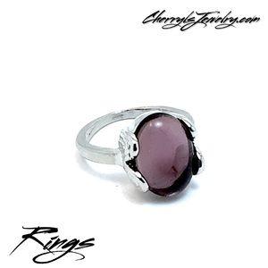 Jewelry - Purple Gemstone Fashion  Ring